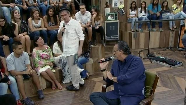 29. dez. 2013 - Galvão Bueno participa do Altas Horas