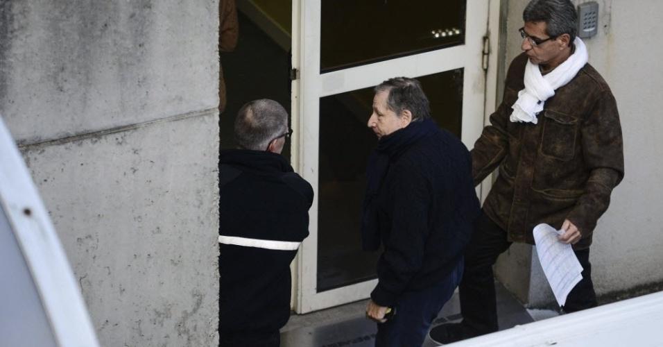 O presidente da Federação Internacional de Automobilismo, Jean Todt, foi ao hospital de Grenoble, na França visitar Michael Schumacher