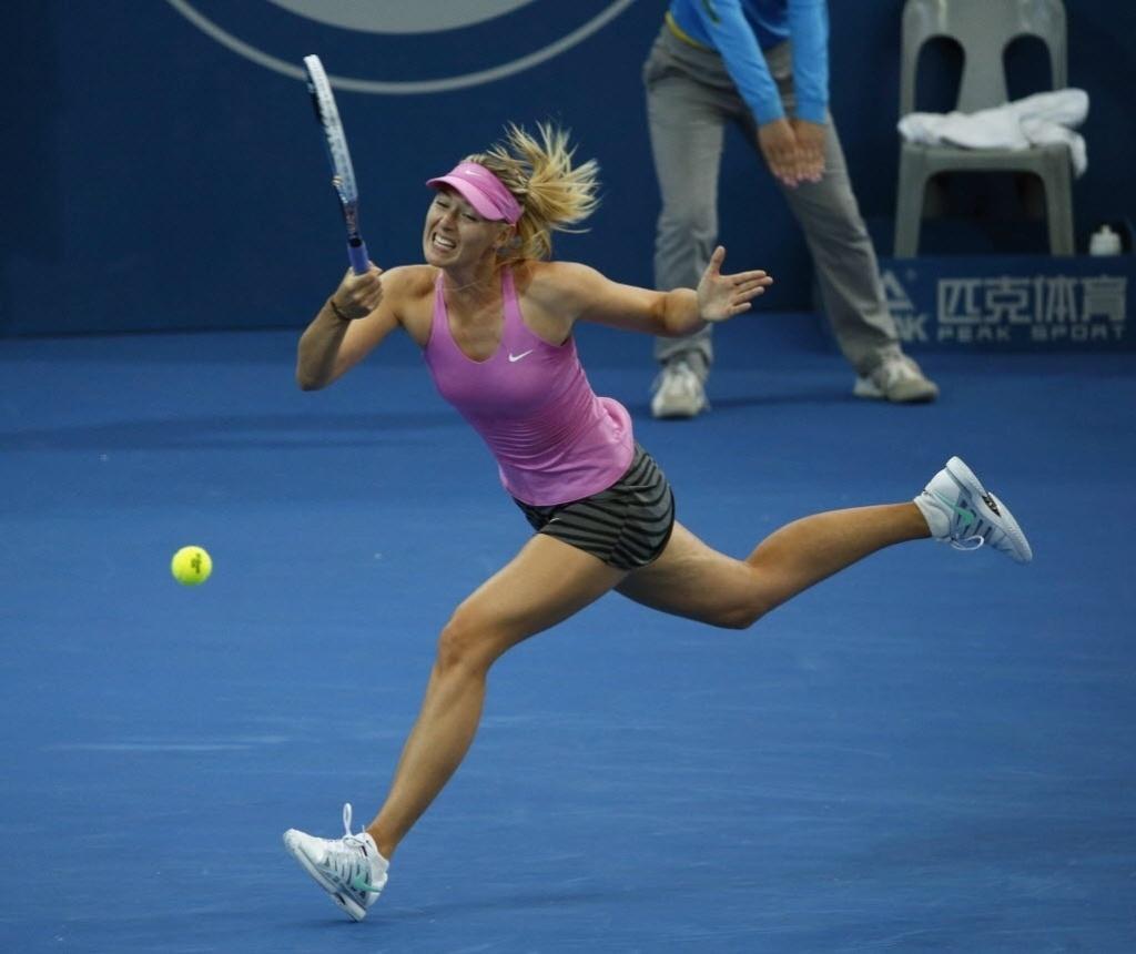 2. jan. 2014 - Maria Sharapova enfrenta Kaia Kanepi pelo torneio de Brisbane