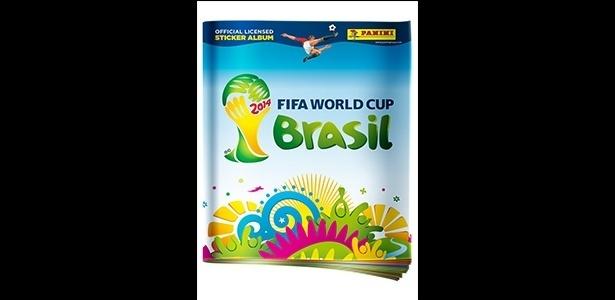 Panini divulga capa do álbum oficial da Copa do Mundo de 2014 no Brasil