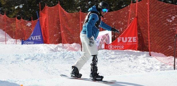 André Cintra vai disputar a Paraolimpíada de Inverno de 2014 no snowboard