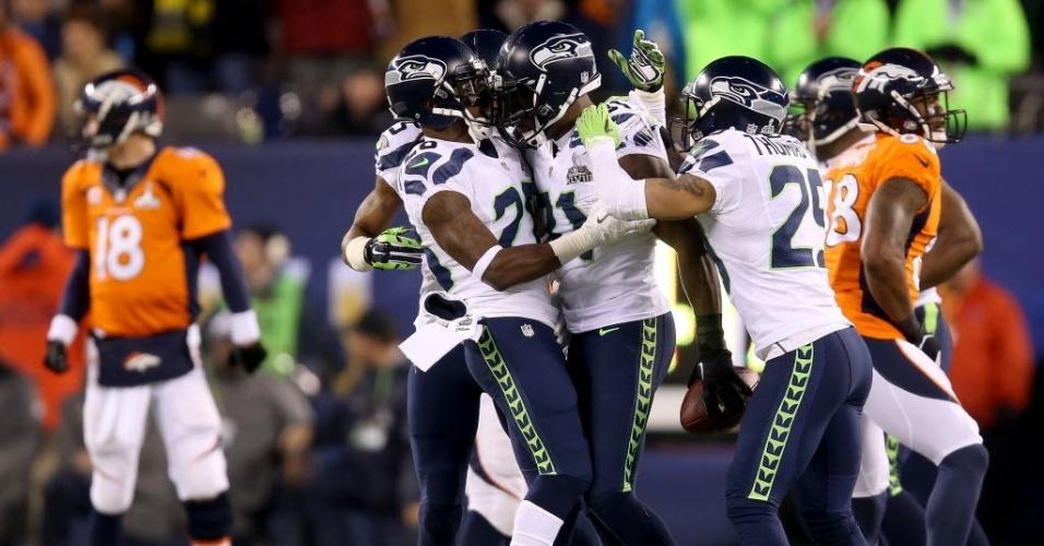 Foi muito fácil! Seahawks atropelam Broncos e vencem primeiro Super ...