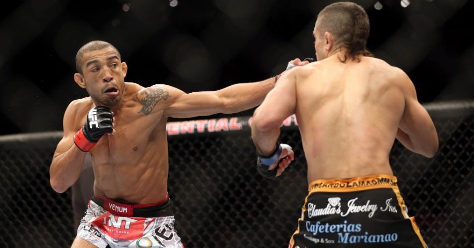 José Aldo não teve problemas para vencer Ricardo Lamas e defender o cinturão do UFC