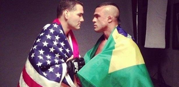 Chris Weidman e Vitor Belfort se enfrentarão em Los Angeles, em fevereiro