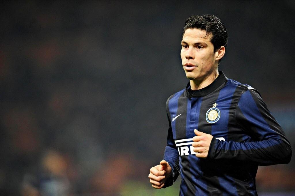 Hernanes foi elogiado pelo técnico da Inter de Milão como jogador com capacidade de tomar as rédeas de uma partida