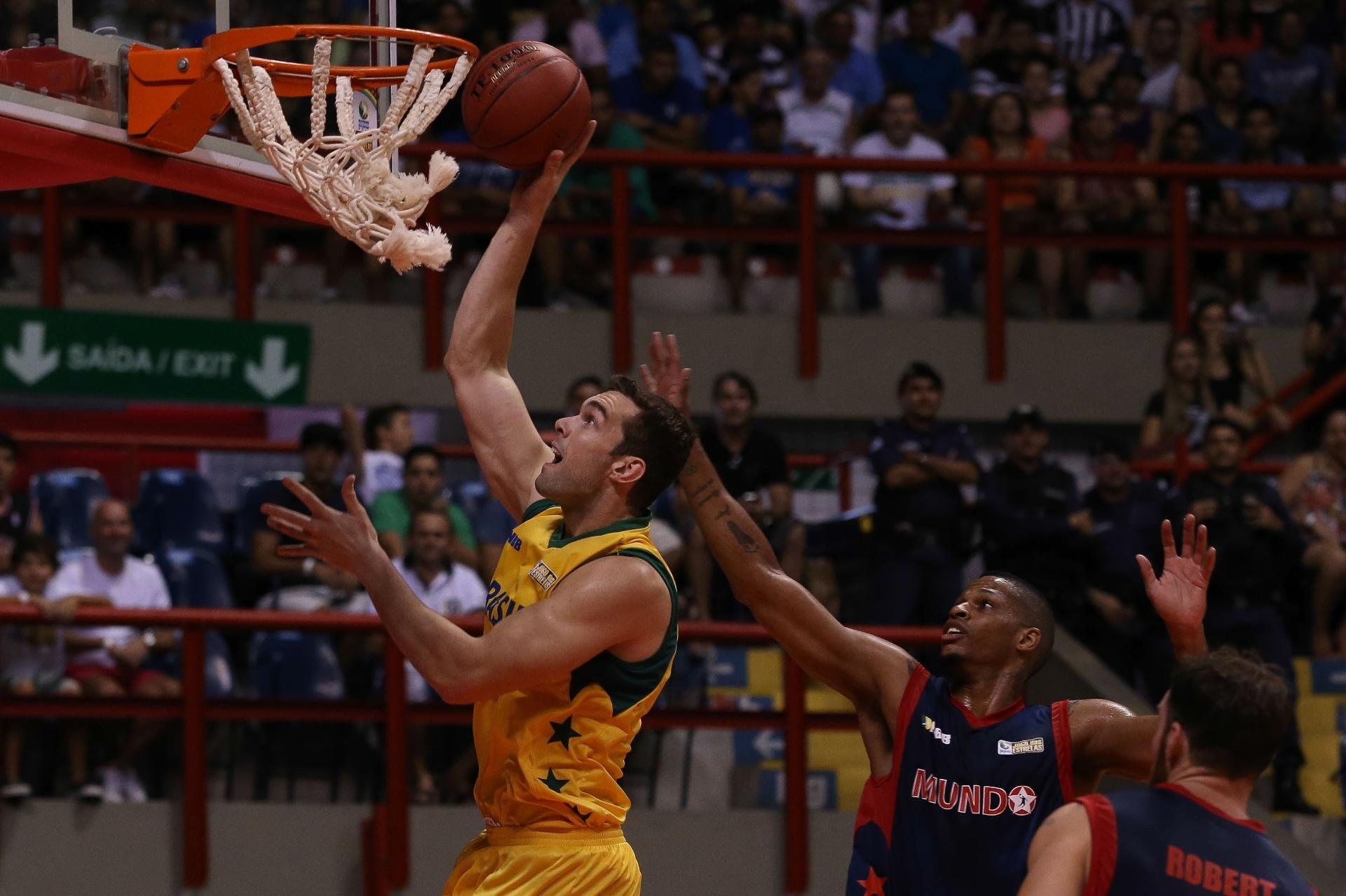 22.02.2014 - Jogo das Estrelas do NBB foi realizado neste sábado em Fortaleza