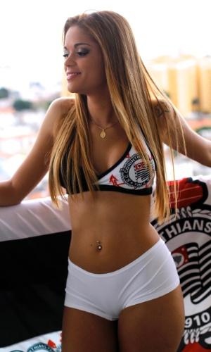 Michelle Oliveira é uma das candidatas do Corinthians