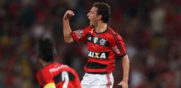 Elano reforça o time do Flamengo na partida decisiva contra o León-MEX pela Copa Libertadores
