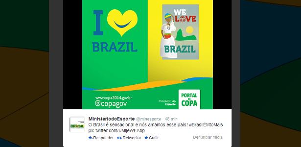 26.02.14 - Ministério do Esporte rebate camisas da Adidas com conotação sexual