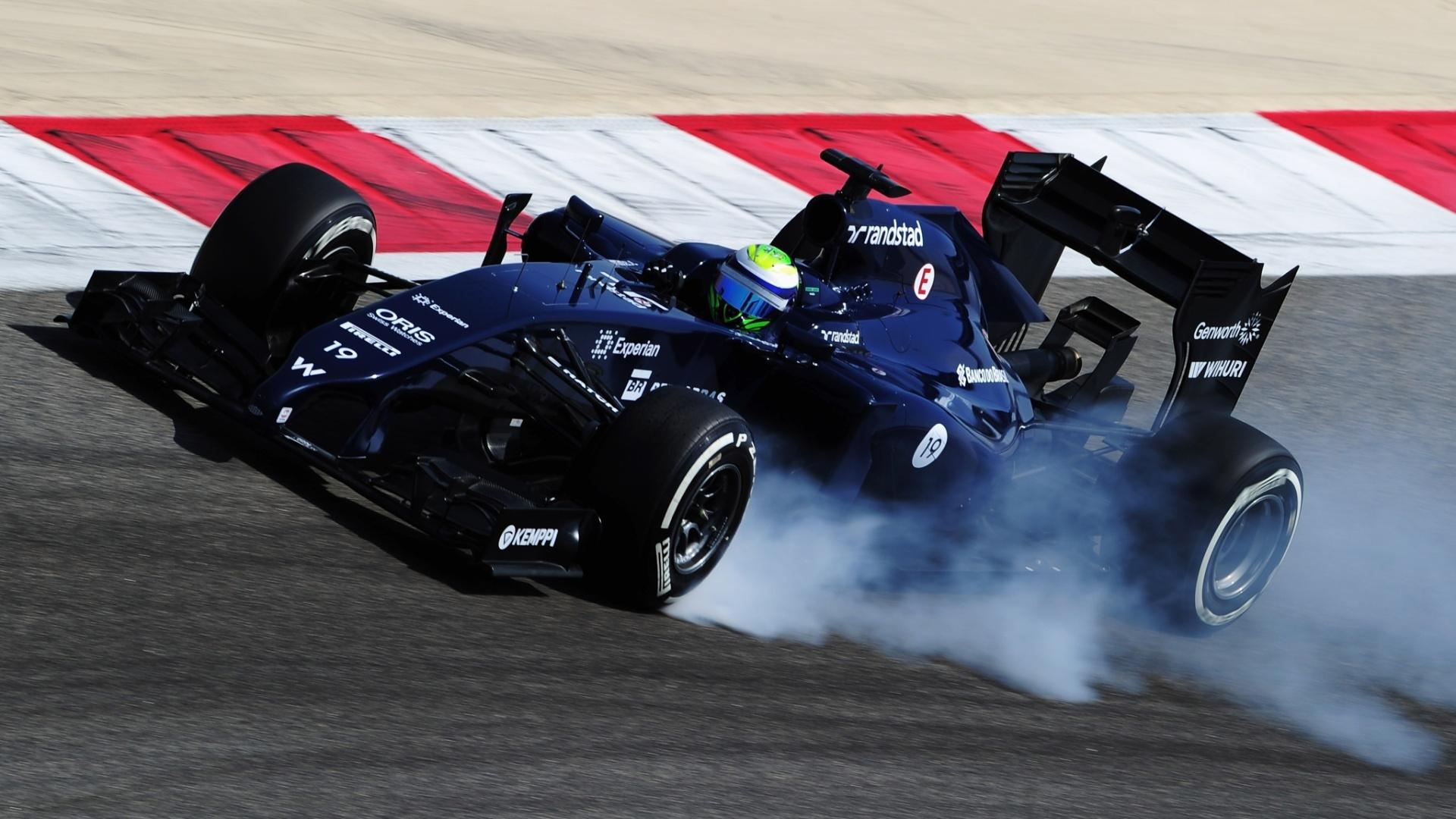 01.mar.2014 - Felipe Massa fez o tempo mais rápido da parte da manhã com a Williams