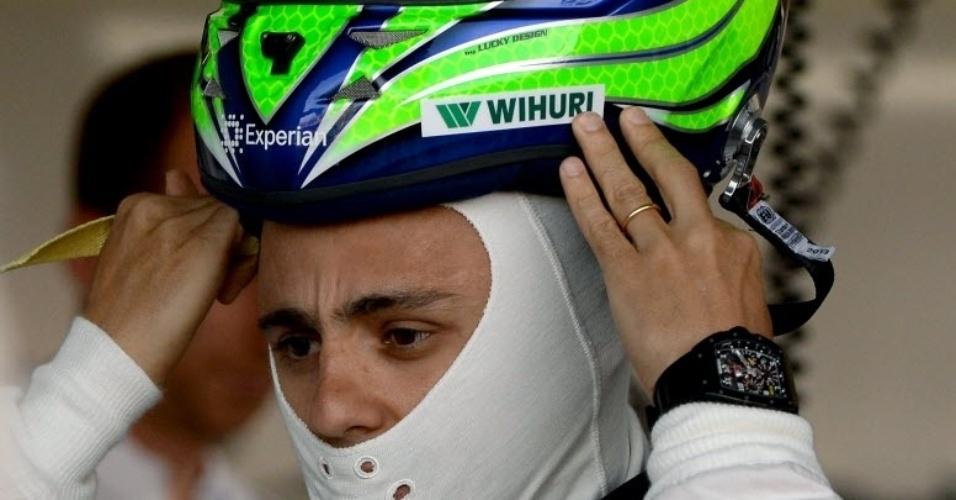 Felipe Massa usará capacete em homenagem a Michael Schumacher, internado desde o fim de dezembro