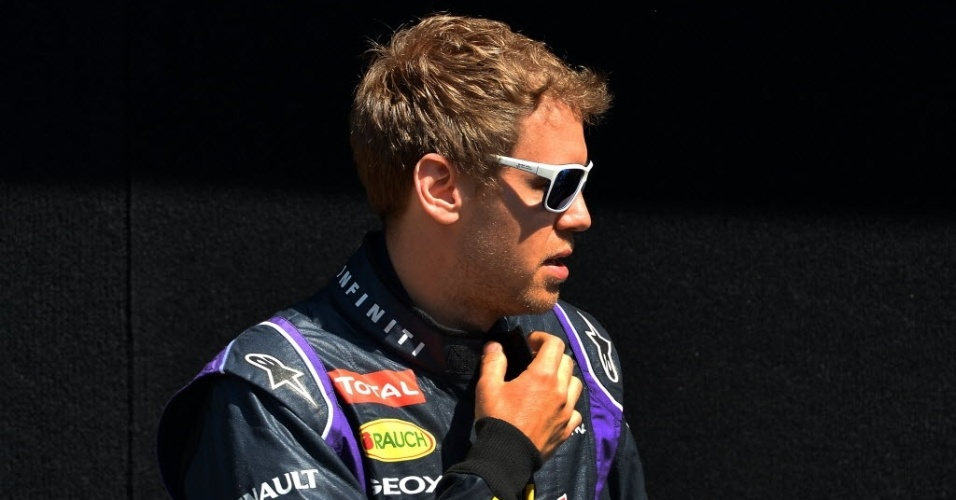 Vettel conferiu no circuito de Albert Park o carro que utilizará para a temporada de 2014