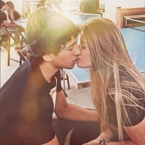 Carol Cabrino e Marquinhos começaram o namoro no começo do ano e já planejam morar juntos em Paris, onde o brasileiro joga, com o PSG