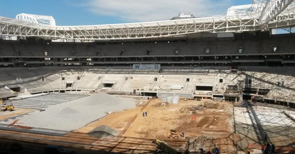 Estádio do Palmeiras tem suas obras concluídas em 85%