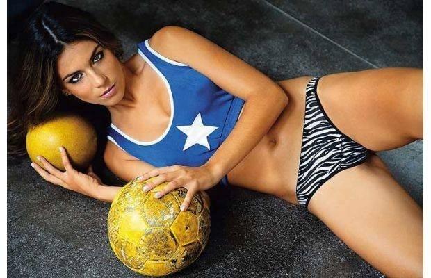 Laisa Andrioli - jogadora de futebol
