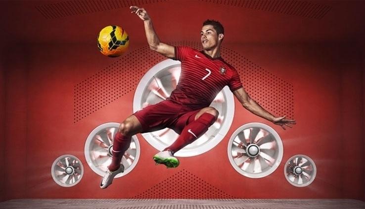 Cristiano Ronaldo é o garoto-propaganda de Portugal