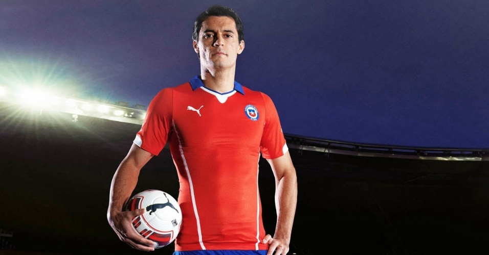 Uniforme do Chile para a Copa do Mundo de 2014