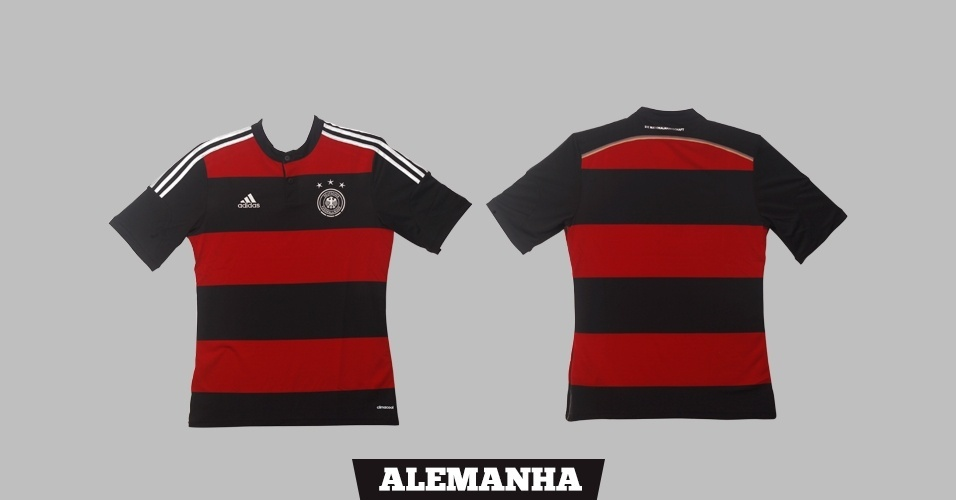 Alemanha - Camisa Rubronegra