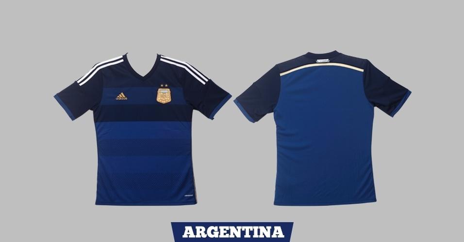 Argentina - camisa azul