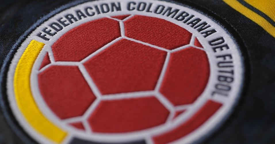 Colômbia - Camisa amarela - Escudo