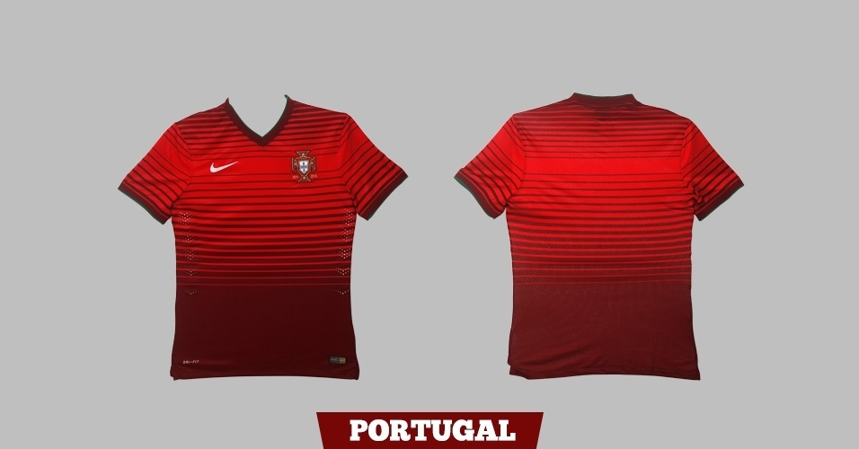 Portugal - camisa vermelha