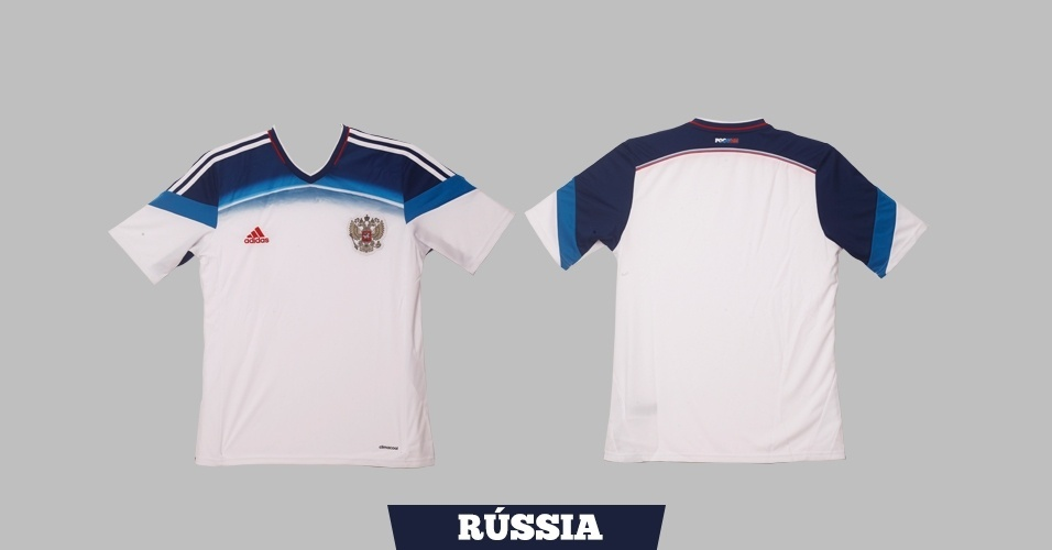 Rússia - Camisa Branca