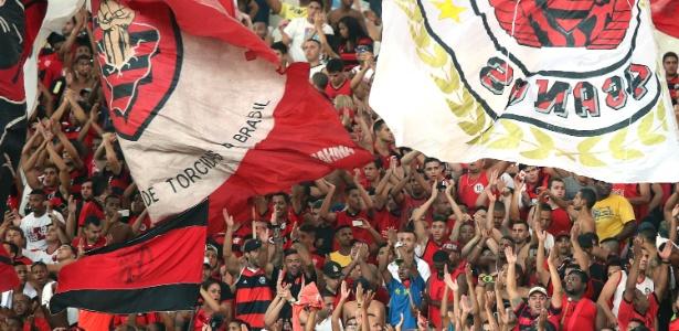 Torcida do Flamengo demonstrou aumento em relação a estudo de 2010