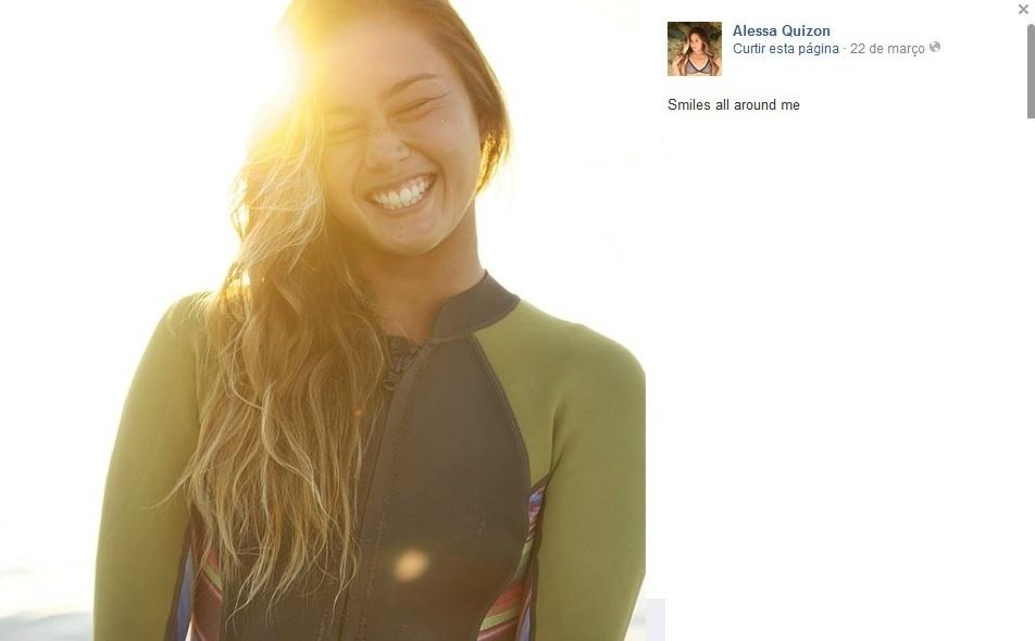 Alessa Quizon, surfista havaiana da elite mundial