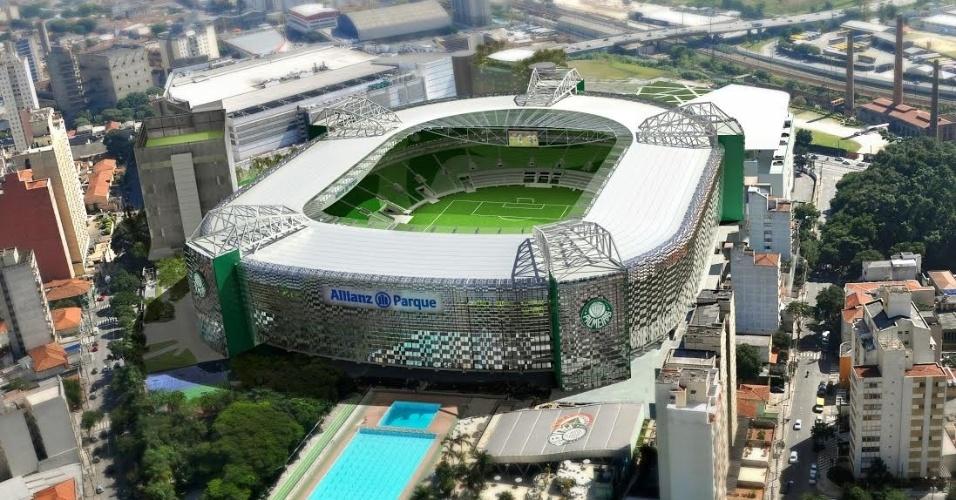 09.04.2013 - Fachada da Nova Arena terá aço inoxidável