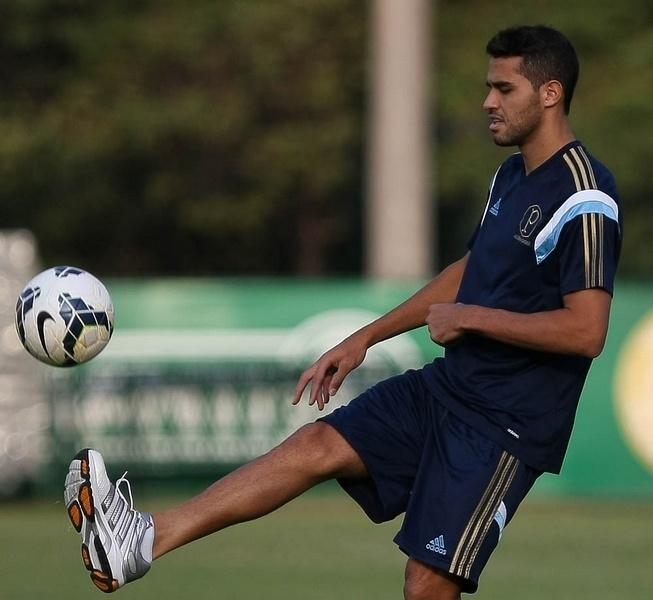 08.04.2014 - Alan Kardec treina no Palmeiras