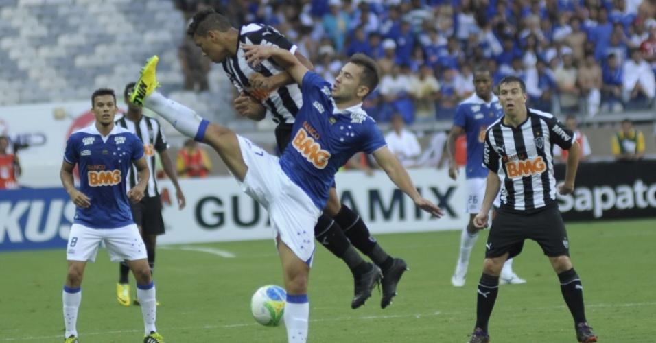 Cruzeiro e Atlético-MG fazem a equilibrada final do Campeonato Mineiro