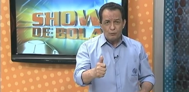 Lourival Santos, apresentador do SBT de Maringá, teria chamado jogador de macaco