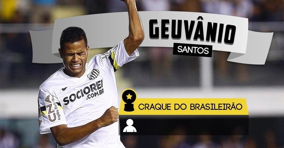 Craque do Brasileirão - Geuvânio/Santos