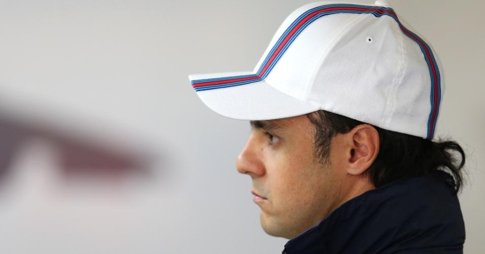 18.abr.2014 - Felipe Massa fez apenas o 10º tempo na primeira sessão de treinos livres na China