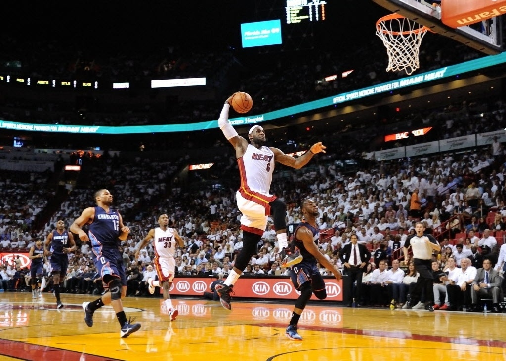 23.abr.2014 - LeBron James