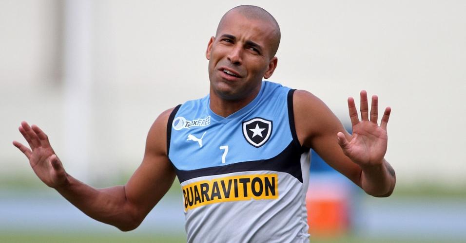 Emerson Sheik será titular contra o Internacional, mas terá que enfrentar longo jejum de gols
