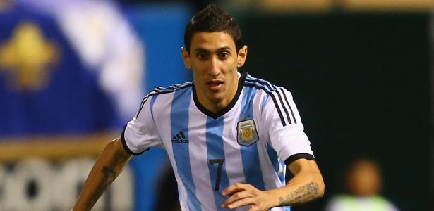 Ángel dí Maria, da Argentina, pode se transferir após a Copa