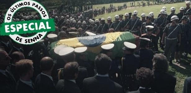Capítulo final: como foi voltar ao Brasil ao lado do caixão de Senna