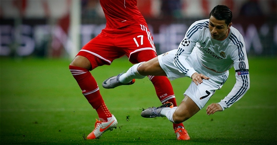 Em detalhes: Bayern 0 x 4 Real Madrid (Boateng e Cristiano Ronaldo)