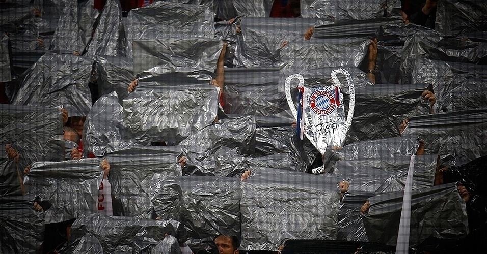 Em detalhes: Bayern 0 x 4 Real Madrid (Torcida do Bayern)