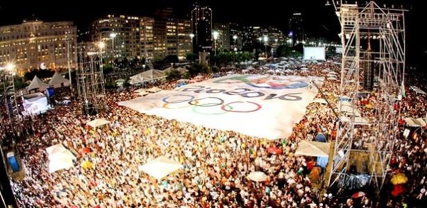 Em 2007, a festa do anúncio do Rio como sede dos Jogos de 2016 só ficou pronta no final, lembra jornalista
