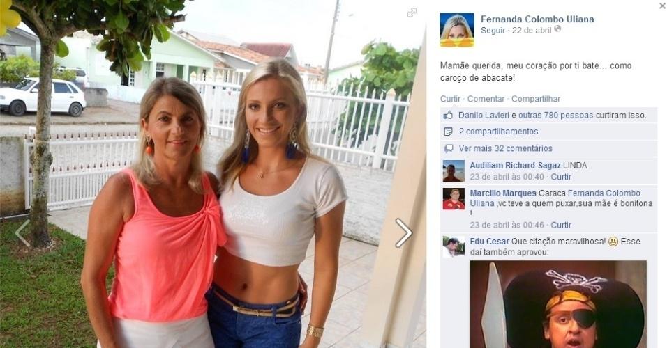 Fernanda Colombo é personal trainer