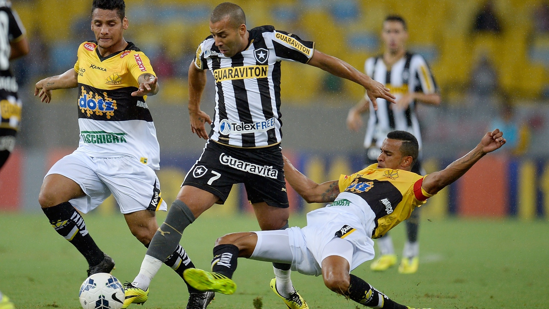[Torcida Flamengo] Botafogo pode tirar atacante Emerson Sheik do Meng�o