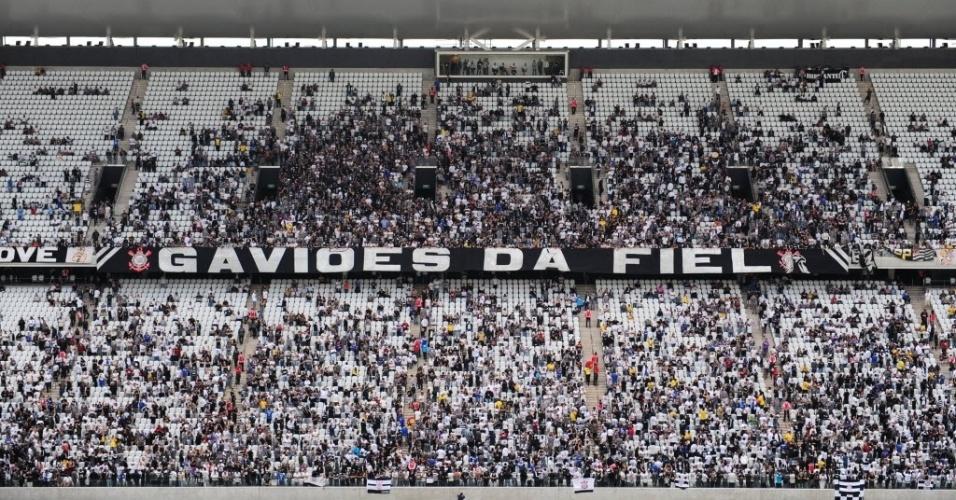 Itaquerão teve público de 20 mil pessoas neste sábado