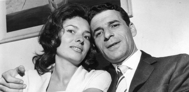 Yeso Amalfi, que conhecia artistas como Sophia Loren e Brigitte Bardot, ao lado da primeira esposa, Colette