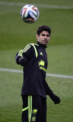 Atacante Diego Costa, da seleção da Espanha