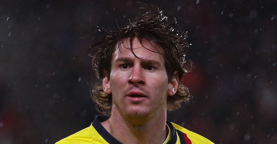 Lionel Messi (Argentina) em 2008