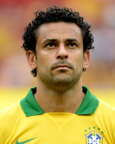 Fred, atacante da seleção brasileira