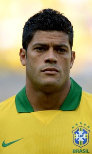 Hulk, atacante da seleção brasileira