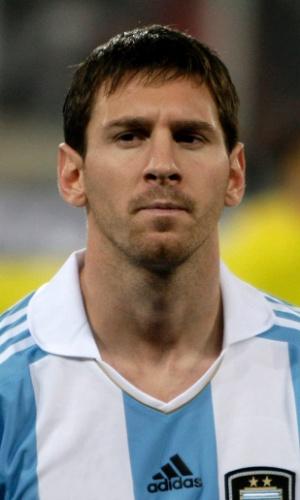 Lionel Messi, jogador da Argentina